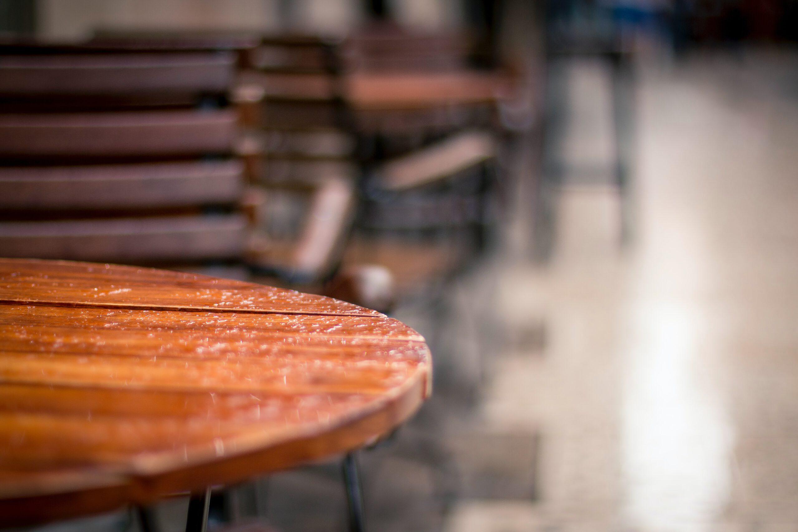 houten tafel op maat